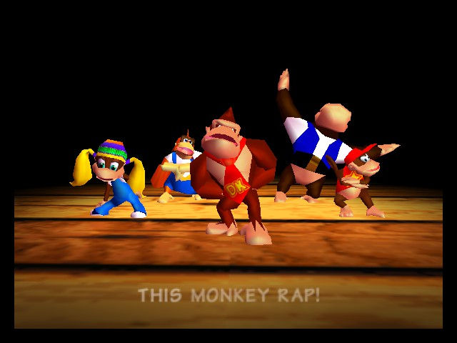 Donkey Kong 64 - MONKEY RAP - User Screenshot
